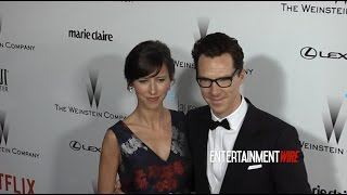 Бенедикт Камбербэтч, Benedict Cumberbatch, Sophie Hunter The Weinstein Company & Netflix's 2015 Golden Globes After Party