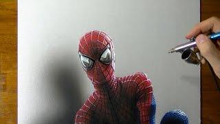 Drawing Time Lapse: The Amazing Spider-Man Portrait, Fan Art