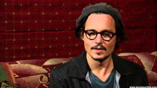 Джонни Депп, interview with Johnny Depp for Alice in Wonderland