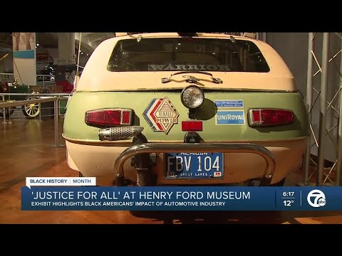 """Justice For All"" exhibit at Henry Ford Museum"