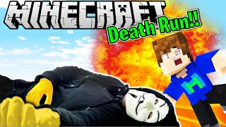 NEW Spy Ninja DEATHRUN in Minecraft! CWC Spy Ninja Town Has a New Challenge!