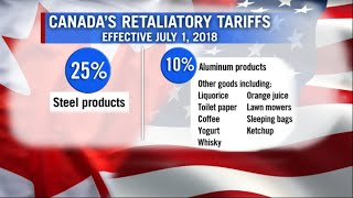 By the numbers: Ottawa's tariff reprisal against Trump