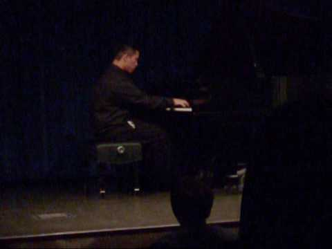 An old recording of my Junior Recital in 2010.