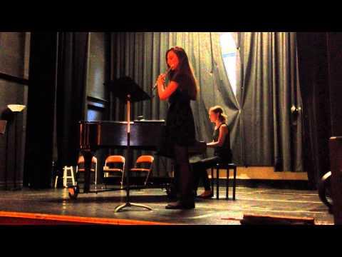 Margot performs Andersen - Scherzo