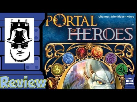 Portal of Heroes Review - with Tom Vasel