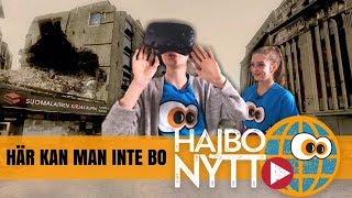 Virtuell verklighet visar hur hemskt syrierna har det