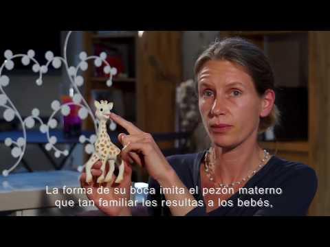 Jirafa Mordillo +0m Sophie La Girafe Único video