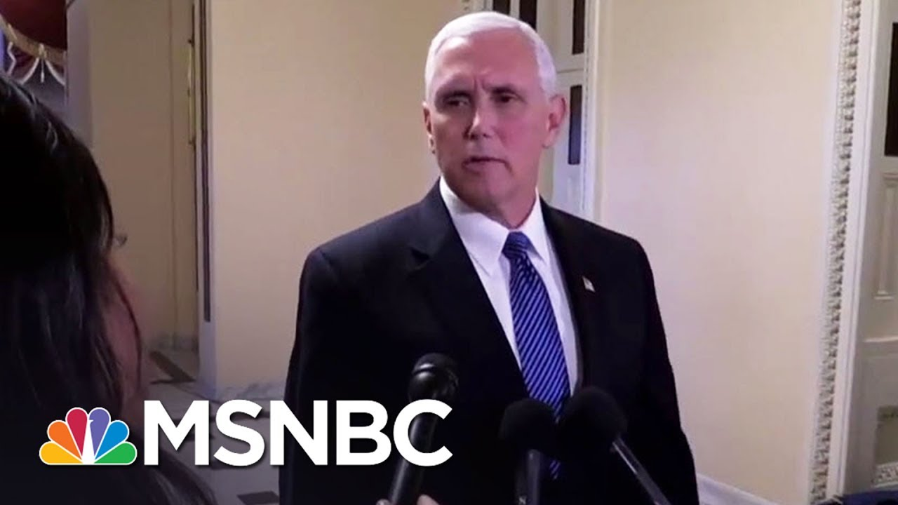 Mike Pence Hires Lawyer With Relevant Experience; Robert Mueller Builds Team | Rachel Maddow | MSNBC thumbnail