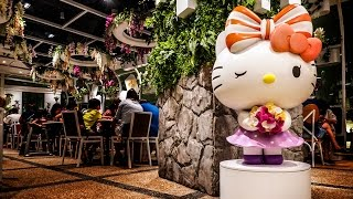 Hello Kitty Cafe Singapore - Orchid Garden at Changi Airport T3
