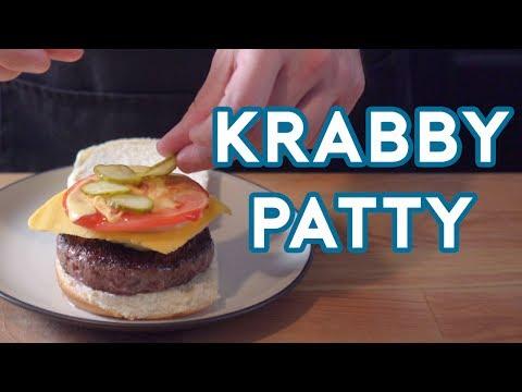 Binging with Babish: Krabby Patty from Spongebob Squarepants