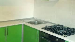 Кухня фото № 51 алюминиевом профиле цвет Зеленый. от компании Фаберме - видео