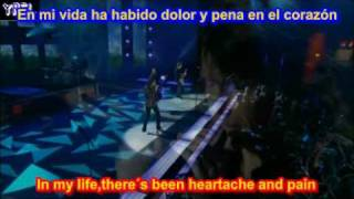 I want to know what love is (SUBTITULADA EN ESPAÑOL INGLES LYRICS SUB )