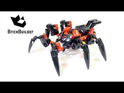 Vidéo LEGO Bionicle 70790 : Le seigneur des araignées squelettes