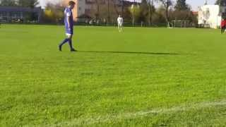 preview picture of video 'KS Barkas Tolkmicko - Mamry Giżycko - Karol Rutkowski (7:1)'