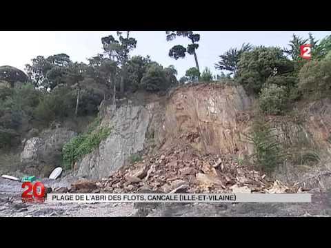 Éboulement d&#39une falaise en Seine-Maritime : l&#39érosion des côtes françaises s&#39accélère