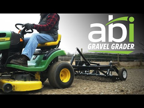 ABI Gravel Grader – Driveway Grader for the Ride-On Mower