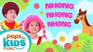 Mầm Chồi Lá - Nhong Nhong Nhong | Nhạc Thiếu Nhi Vui Nhộn - Kids Songs - Nursery Rhymes