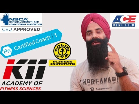 FITNESS CERTIFICATIONS INDIA- 4 Most important things B4 ...