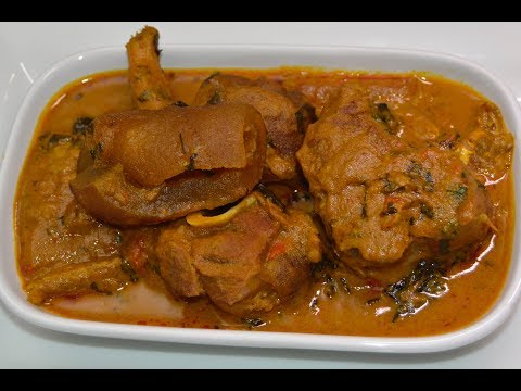 HOW TO MAKE BANGA SOUP- OFE AKWU NIGERIAN STYLE- ZEELICIOUS FOODS