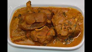 HOW TO MAKE BANGA SOUP- OFE AKWU NIGERIAN STYLE- ZEELICIOUS FOODS