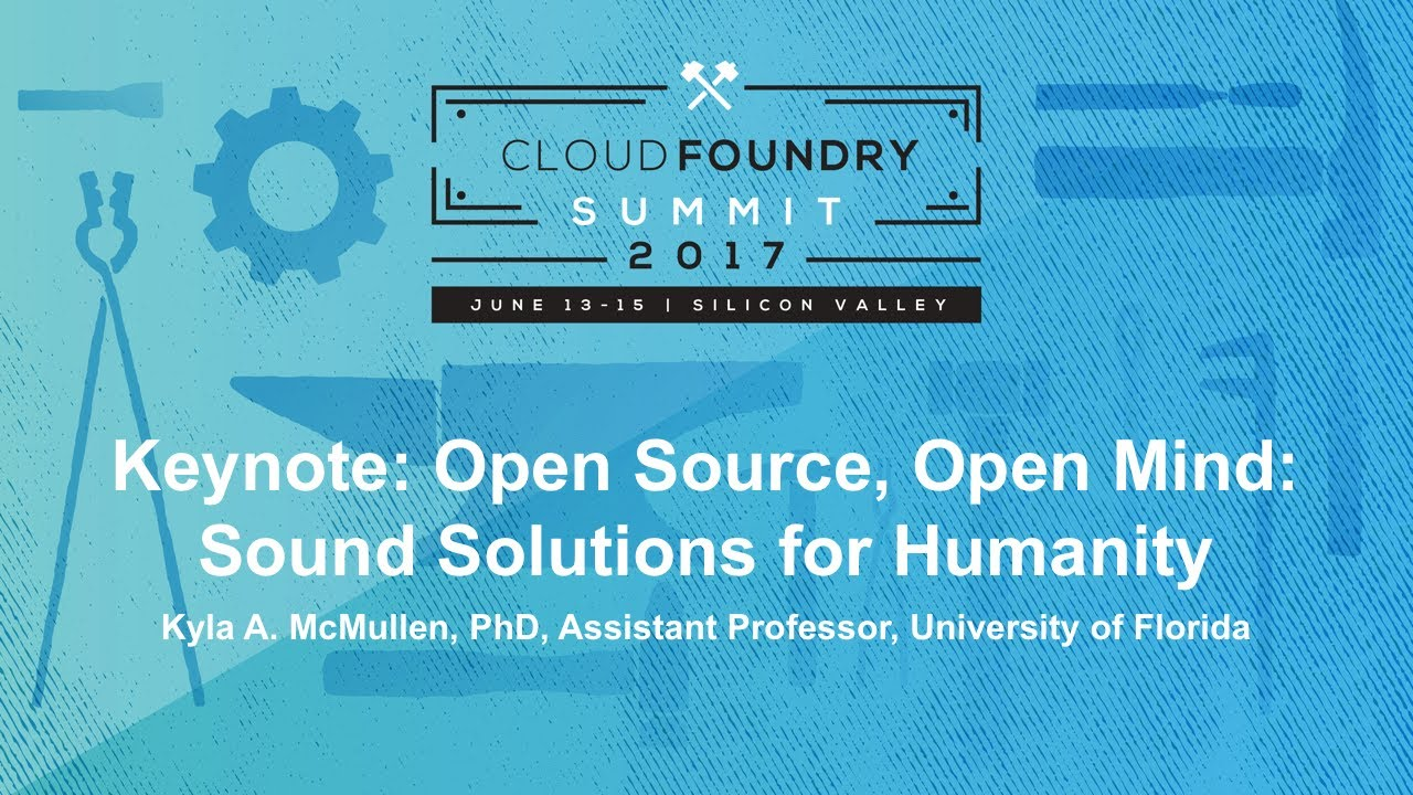 Keynote: Open Source, Open Mind: Sound Solutions for Humanity