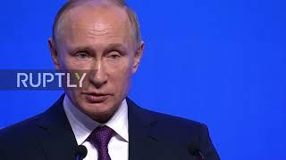 Russia: Putin slams