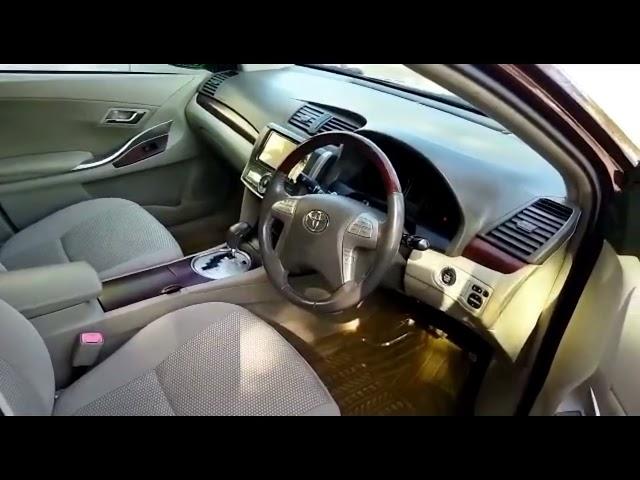 Toyota Premio X EX Package 1.8 2011 Video