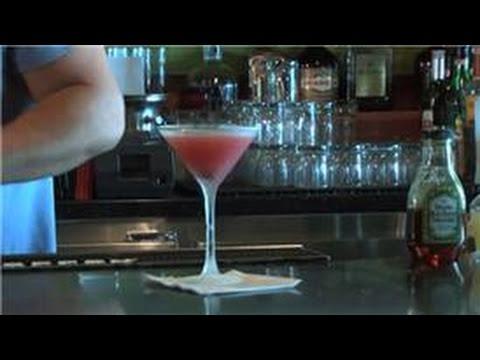 Video Martini Recipes : Cherry Martini Recipe