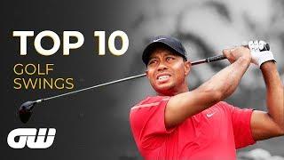 Top 10: GREATEST EVER Golf Swings   Golfing World