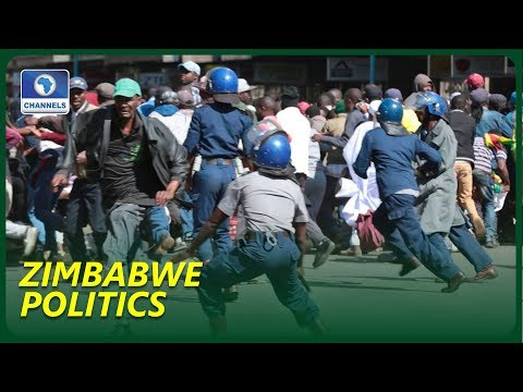 Police Disperse Opposition Rally In Zimbabwe