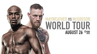 Mayweather vs McGregor: Toronto Press Conference