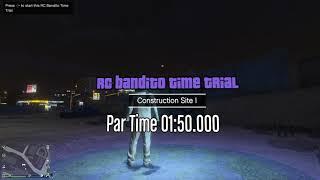 GTA 5 - RC Bandito Time Trial - Construction Site l