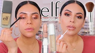 DRUGSTORE MAKEUP TRANSFORMATION USING ONLY e.l.f. MAKEUP!