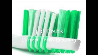 צחצוח שיניים בצורה נכונה
