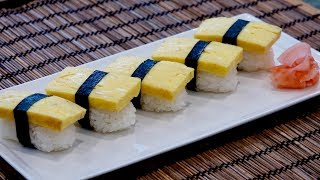 Tamago Sushi Recipe – Japanese Cooking 101