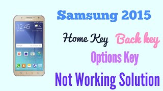 Samsung J7  J5  J3  J3 Home Button Key Not Working  How To FIX -- GSM GUIDE