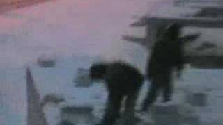 preview picture of video 'الثلج في يبرود -منتديات يبرود أون لاين'