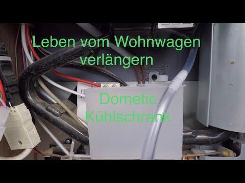 Hobby Dometic Kühlschrank Kondenswasser Ablaufschlauch verbessert  + Kühlschrank Homefunktion