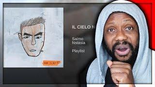 SALMO   IL CIELO NELLA STANZA FEAT. NSTASIA   REACTION!!!