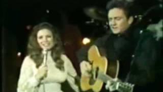 Johnny Cash & June Carter Cash - It An't Me Babe [March 10 '71]