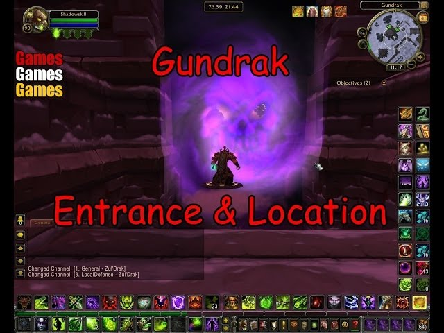Gundrak Entrance Location Gundrak Entrance Location World Of