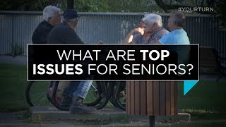 What are the top issues for seniors in Canada today?   Outburst