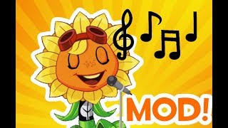 Plants Vs. Zombies Mods - Solar Flare Sings The Credits!