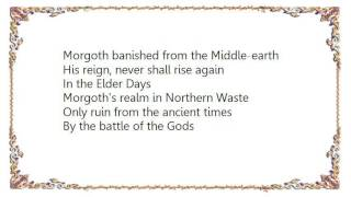 Battlelore - The War of Wrath Lyrics