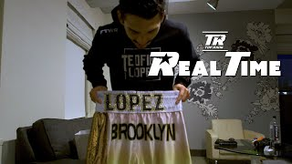 Teofimo Lopez on why he wears gold at Madison Square Garden | Top Rank Real Time