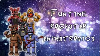 [ Speed Edit | FNAF ] Making Funtime Rockstar Animatronics