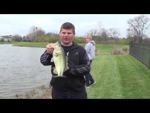 Fall Bass Fishing With Strike King Finesse Worms
