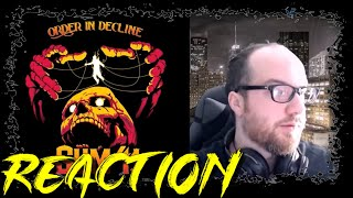 Sum 41 - A Death in the Family | REACTION (Reupload)