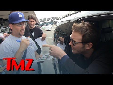 Chris Pratt -- Don't Cuss At Me! Flips on Autograph Hounds | TMZ