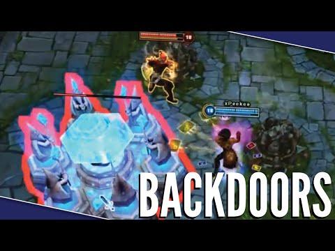 League Of Backdoors - League Of Legends Montage